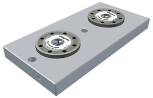 Quick Change Workholding - Clamping Plates with Built-In Modules